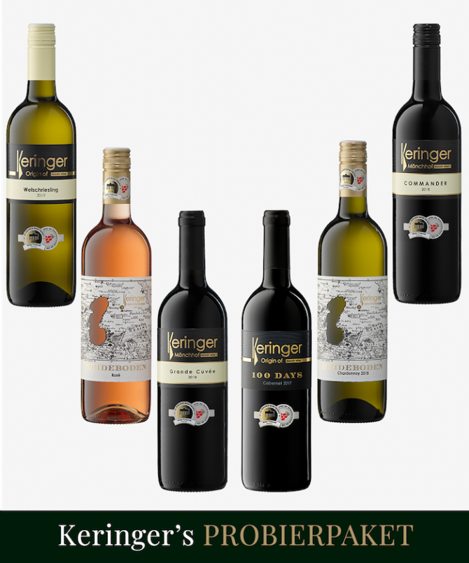Weinpaket KERINGERs Probierpaket