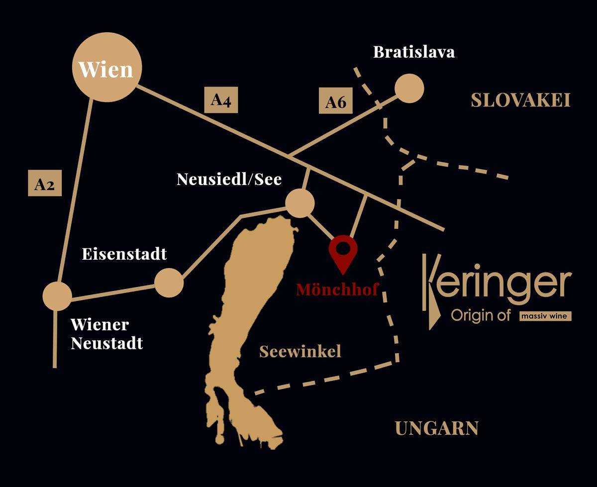 Karte Weingut Keringer Mönchhof