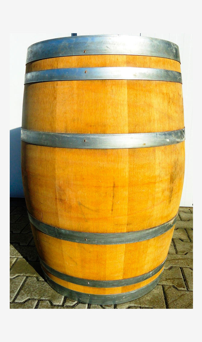 Barriquefass vom Weinbauern