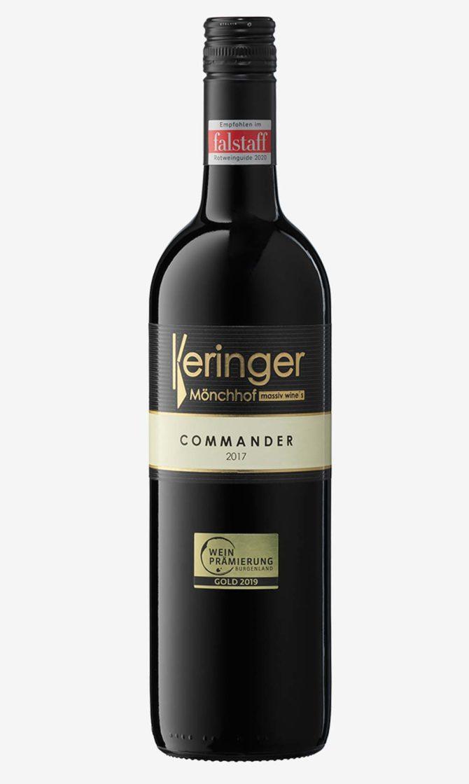 Keringer Commander Weinflasche
